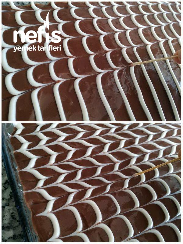 Çikolatalı Pamuk Pasta