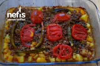 Patatesli Kıymalı Akşam Yemeği Tarifi (Videolu)