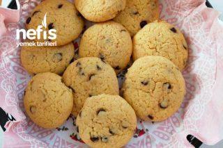Çikolatalı Cookie (Sıvı Yağla Yapılan Kek Tadında) Tarifi