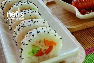 Güney Korenin Popüler Yemeği (Kimbap) Tarifi