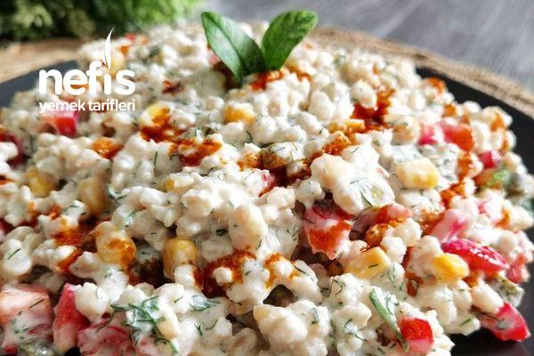 Yoğurtlu Buğday Salatası (Yaz Salatası)