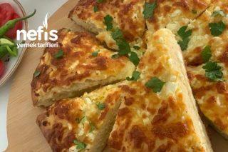 Dünyanın En Lezzetli En Kolay Böreği Kaşarlı Beyaz Peynirli Börek Ekmek (Videolu) Tarifi
