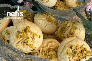 Antep Fıstıklı kurabiye (Nişastalı Ağızda Dağılan) Tarifi