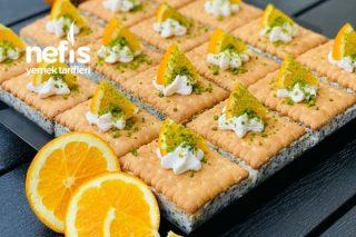 Haşhaşlı Portakallı Pratik Pasta Tarifi