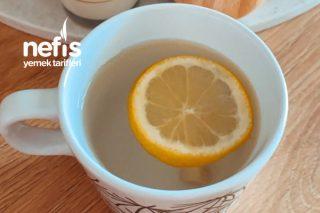 Taze Zencefil Ve Limonlu Şifa Çayı (Diyet İçinde Uygun) Tarifi