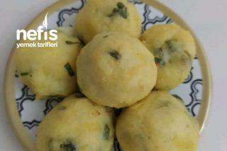 Bebişlere Fırında Patates Topu Tarifi