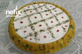 Patates Salatası (Tart Kalıbında) Tarifi
