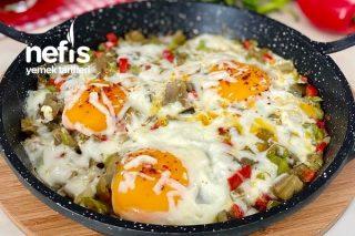 Muhteşem Kahvaltılık Çok Lezzetli Patlıcanlı Yumurta Tarifi
