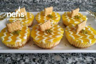 Porsiyonluk Limonlu Cheesecake (Kremasız) Tarifi