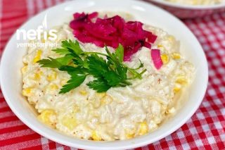 Doyurucu Erişte Salatası Tarifi