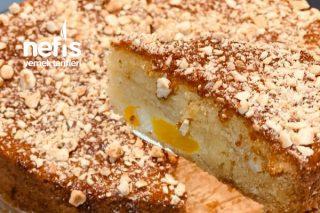 Kayısı Reçelli Elmalı Kek Tarifi