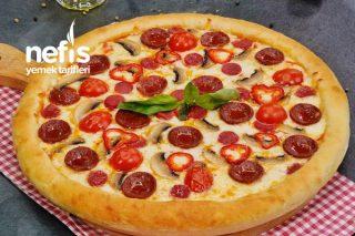 Dominos'a Rakip Efsane Pizza Tarifi (videolu)