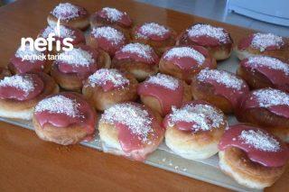 Lezzetli Mi Lezzetli Çilekli Donut Tarifi