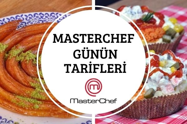 Masterchef Yemekleri: 8 Eylül Günün Menüsü Tarifi