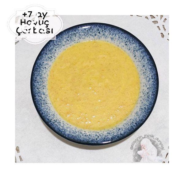 Havuç Çorbası (+7 Ay)