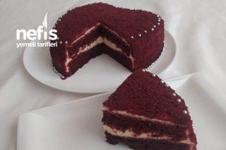 Red Velvet Cake (Kırmızı Kadife Pasta) (Aşk Pastası) Tarifi