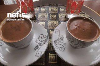 Bitter Çikolatalı Sade Sütlü Türk Kahvesi Tarifi