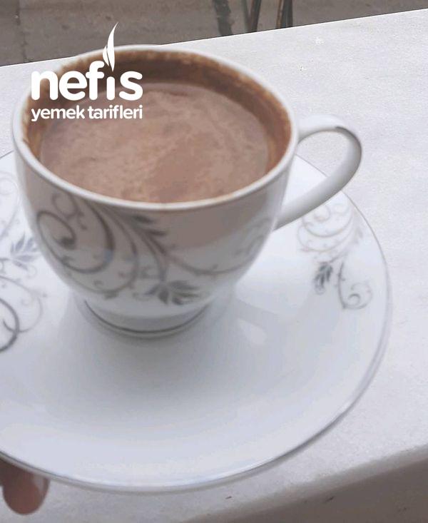 Bitter Çikolatalı Sade Sütlü Türk Kahvesi
