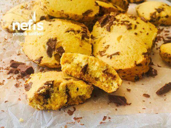 Çikolatalı Buzluk Kurabiyesi (Az Malzeme Çok Lezzet)-9687147-100925