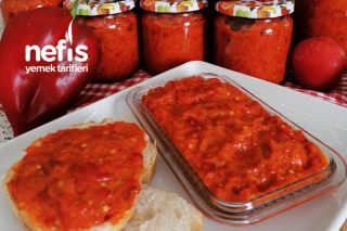 Lutenitsa (Kışlık Kahvaltılık Sos) Tarifi