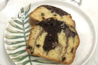 Damla Çikolatalı Yumuşacık Alaca Kek Tarifi
