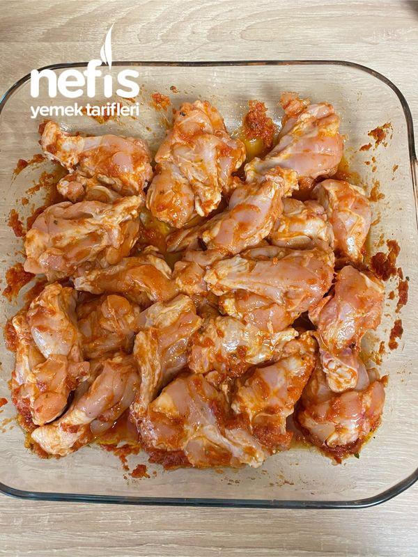 Enfes Soslu Fırında Sebzeli Tavuk