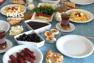Kahvaltı Masamız (11 Eylül Cumartesi 2021) Tarifi