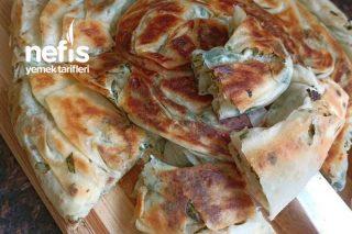 Yapılışı Kolay Kahvaltıda Şipşak Hazırlayabileceğiniz Enfes Rulo Tava Böreği Tarifi