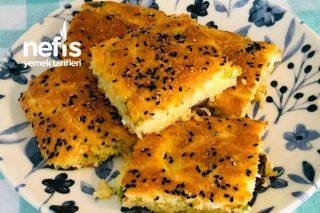 Kahvaltılık Peynirli Zeytinli Kek (Çay Demlenene Kadar Hazır) Tarifi