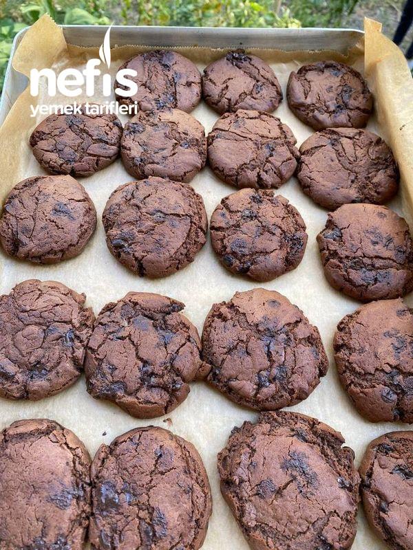Enfes Çikolatalı Kurabiye (Cookies)