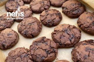Enfes Çikolatalı Kurabiye (Cookies) Tarifi