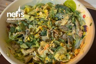 Tavuklu Quark Salata Tarifi