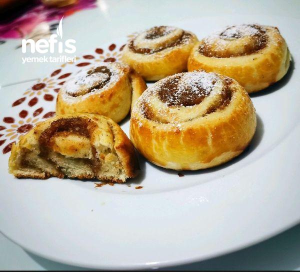 Kurabiyeyi Unutturan Elmalı Tatlı Çörek (Yumuşacık Tereyağlı)