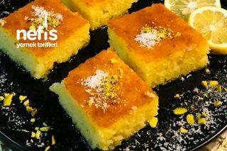 Limonlu Sünger Tatlısı tarifi Tarifi