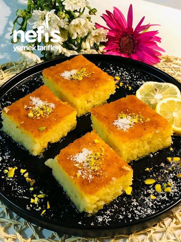 Limonlu Sünger Tatlısı tarifi