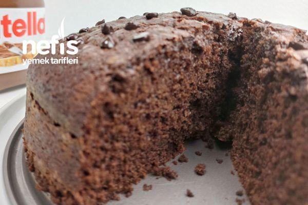 Yumuşacık Çikolatalı Kek Tarifi (Nutella Kek Nasıl Yapılır) Videolu
