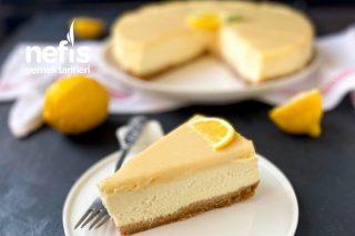 İpeksi Dokusuyla Beyaz Çikolatalı Limonlu Cheesecake Tarifi