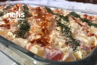 Labneli Patates Salatası Tarifi