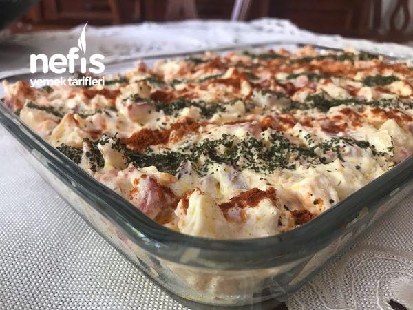 Labneli Patates Salatası