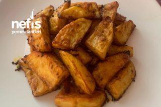 Baharatlı Elma Dilimli Patates (Fırında) Tarifi