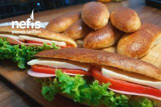 Evde Yumuşacık Sandviç Ekmekleri Yapalım Videolu Tarifi