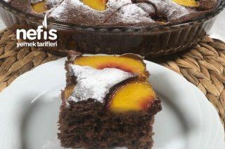 Kakaolu Şeftalili Kek Tarifi