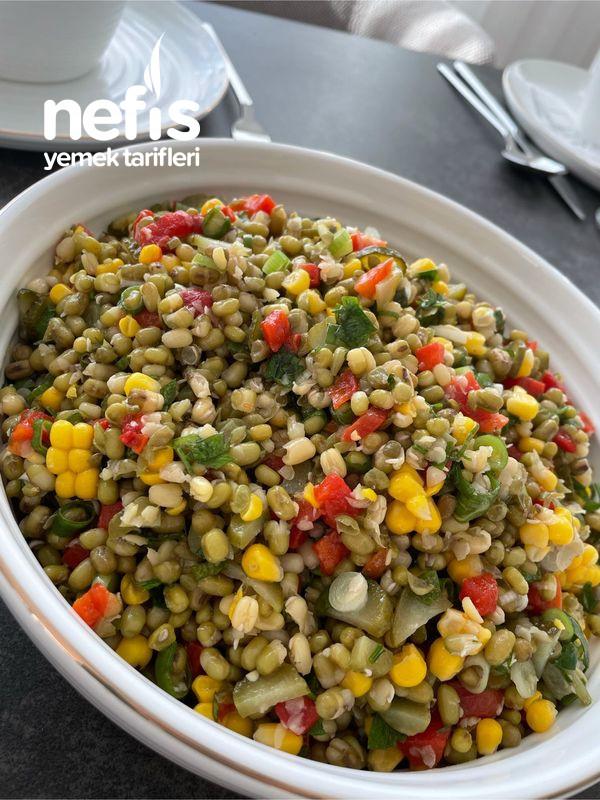 Maş Fasülye Salatası