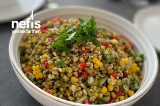 Maş Fasülye Salatası Tarifi