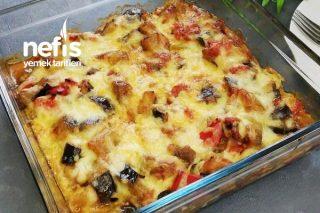 Patlıcanla Yapılabilecek Lezzetli Ve Kolay Yemeklerden Biri (Patlıcan Graten) Tarifi