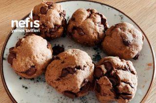 4 Malzemeli Çikolatalı Kurabiye (Tüm Diyetlere Uygun Vegan) Tarifi