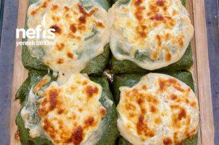 Fırında Ispanaklı Krep (Favoriniz Olacak) Tarifi