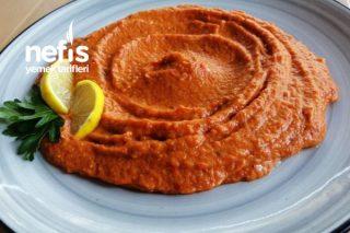 Kırmızı Biberli Nefis Köz Patlıcan Mezesi Tarifi