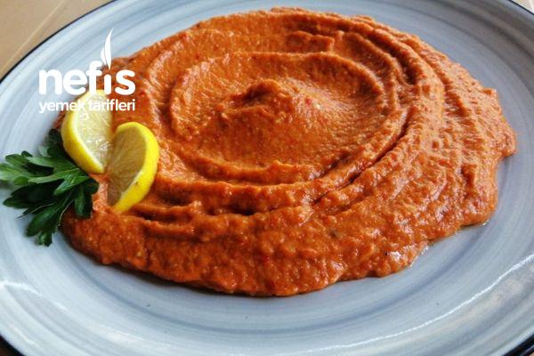 Kırmızı Biberli Nefis Köz Patlıcan Mezesi