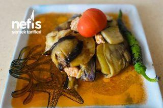 Porsiyonluk Patlıcan Kapama Tarifi